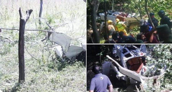 Cae avioneta en Puerto Escondido, hay 6 heridos