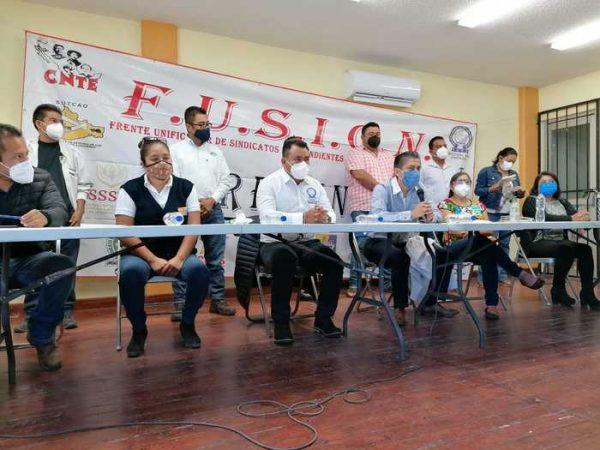 Frente Unificador de Sindicatos piden que Oaxaca regresa a semáforo rojo