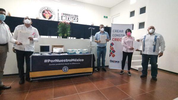Grupo Modelo entregó insumos por más de 6 mdp al Hospital de Tuxtepec