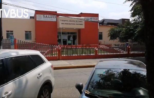 No solo falta equipo y personal, ahora reportan apagones en el Hospital de Tuxtepec