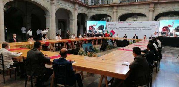 Se invertirán más de 3 mil 500 millones de pesos en corredor interoceánico en Oaxaca