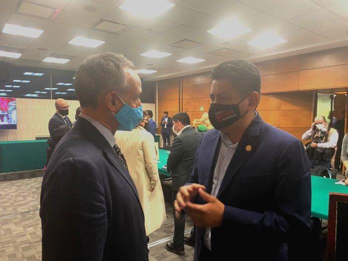 Acuerdan Irineo Molina y López Gatell, reunión en materia de infraestructura hospitalaria en Oaxaca