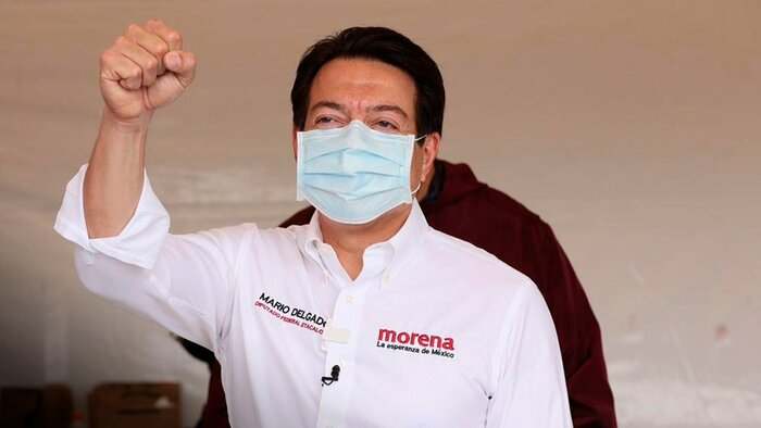 Gana Mario Delgado presidencia de Morena