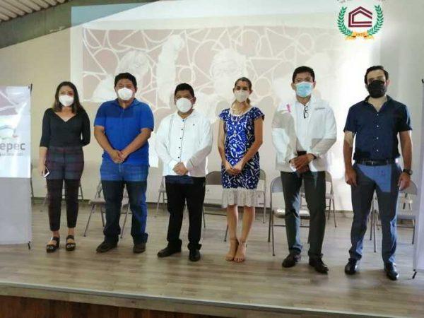 """Develan nuevo boceto para Mural """"Nuestros Héroes"""", dedicado a todo el personal médico de Tuxtepec"""