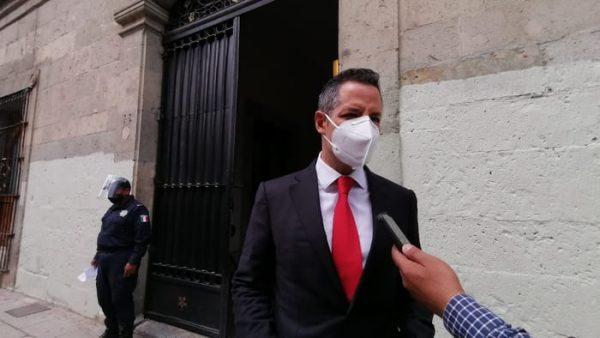 Murat a Sindicatos: Semáforo es para conocer nivel de riesgo de contagio
