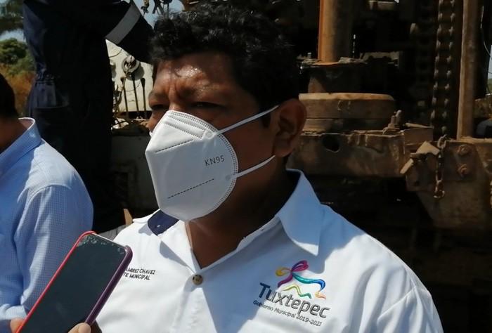 Llama Presidente de Tuxtepec a visitantes, tomar en cuenta las medidas para evitar contagios