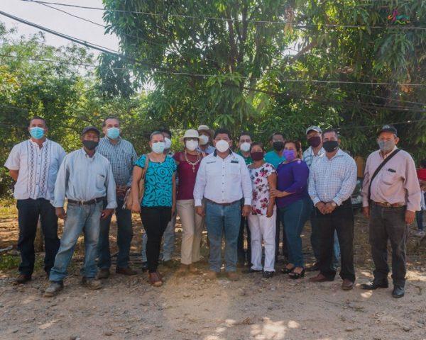 Presidentes de colonias en Tuxtepec manifiestan su respaldo al Presidente Noé Ramírez