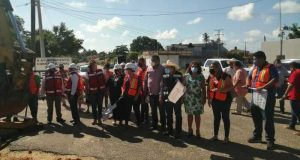Dan banderazo de inicio de obras en Loma Bonita, invertirán más de 3 mdp