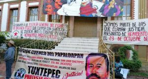 Organización 23 de octubre, se manifiesta por décimo aniversario del asesinato de Heriberto Pazos