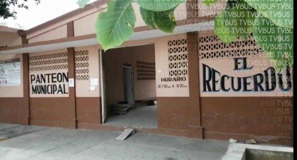 Por Día de Muertos, panteón de Loma Bonita permanecerá abierto