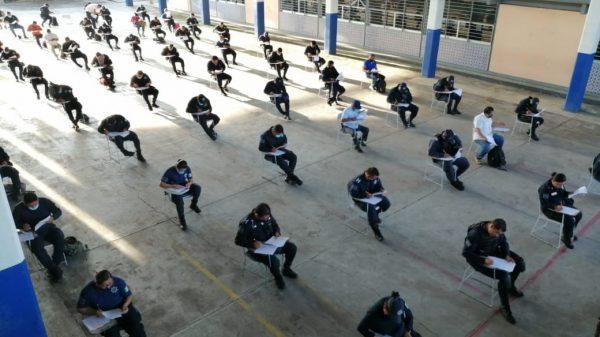 Policías de Tuxtepec cumplen al 100% normativa que establece el Gobierno Federal