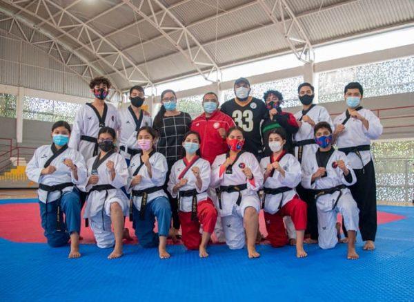 Taekwondoístas tuxtepecanos participarán este domingo en torneo y internacional de Poomsae virtual