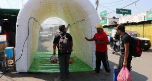 Pagó gobierno de Oaxaca, más de 11 mdp por túneles sanitizantes