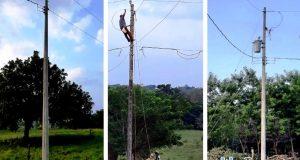 Energía eléctrica, una realidad para la comunidad de Palmilla en Loma Bonita