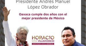Destaca Diputado Horacio Sosa, logros para Oaxaca en segundo año de gobierno de AMLO