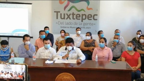 Ayuntamiento de Tuxtepec logra concesión del muro boulevard, anuncian Parque Lineal