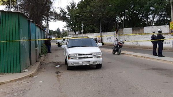 """Balacera en """"Plaza Bella"""", deja cuatro detenidos en Oaxaca"""