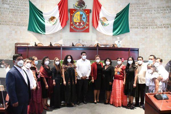 Congreso de Oaxaca va con rumbo, convicción y mayoría, afirma Horacio Sosa