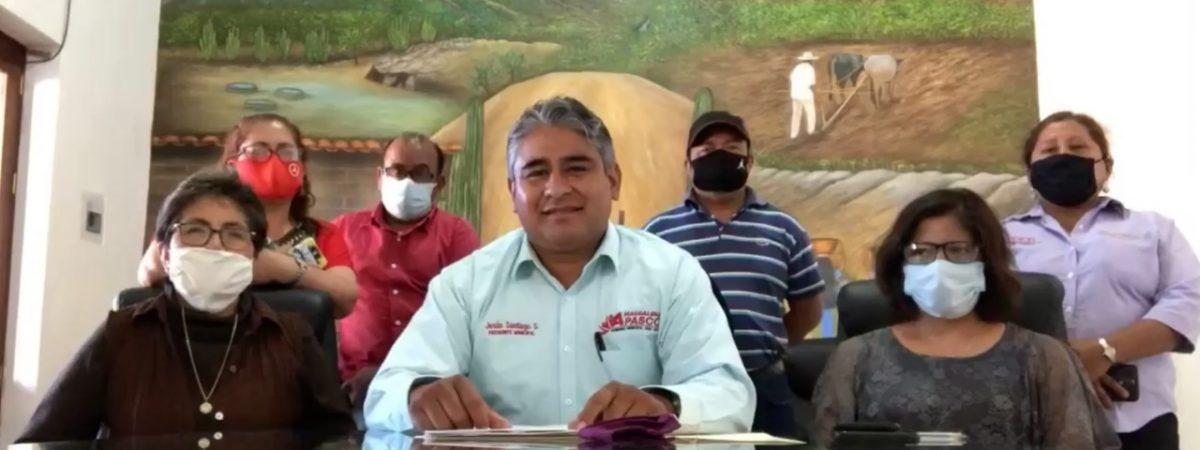 Desmiente Presidente de Magdalena Apasco Jesús Santiago Santiago a Agente de San Isidro Catano