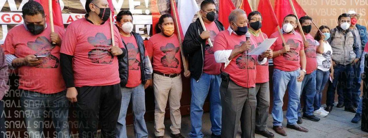 Exige FPR justicia a tres meses de asesinato de Tomás Martínez Pinacho