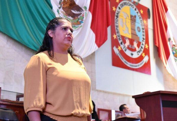 Demanda Diputada Laura Estrada al gobierno de Oaxaca, priorizar obra hospitalaria detenida en San Bartolo