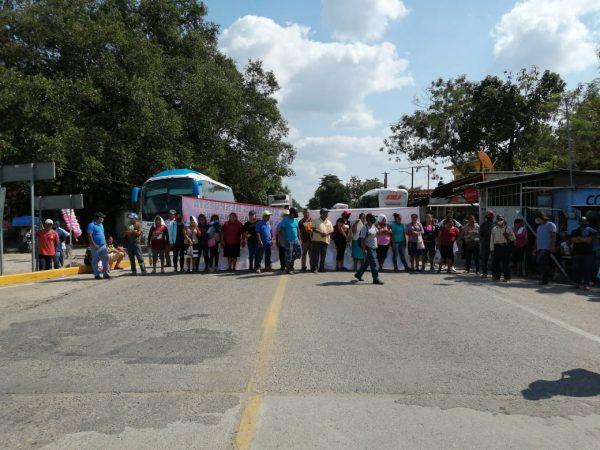 OMCI bloquea accesos a la Cuenca del Papaloapan