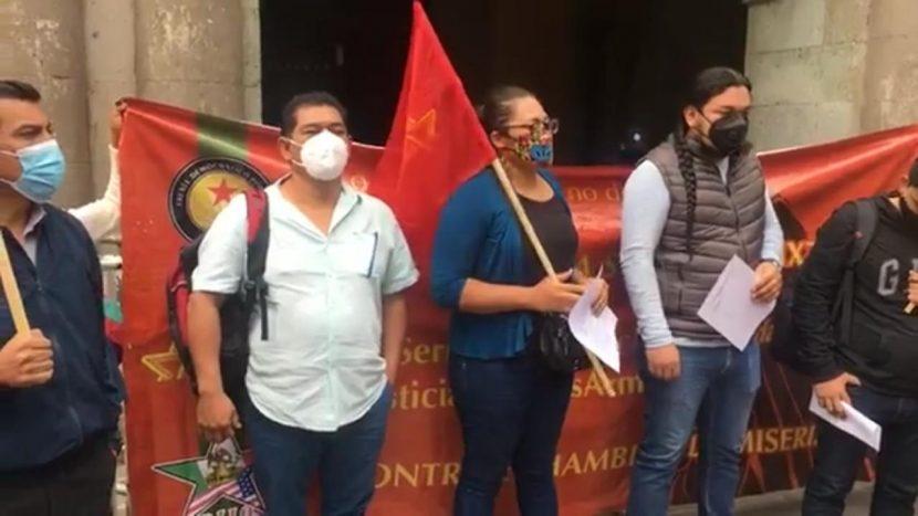 """Organizaciones señalan de """"amasiato"""" a todos los partidos políticos, luego de cuarto informe"""