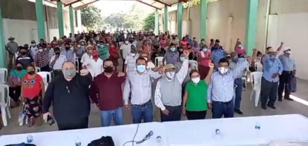 A pesar de pandemia, PUP realiza asamblea con más de 200 personas en Valle Nacional