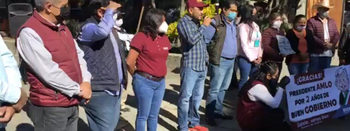 Pese a pandemia, MORENA anuncia actividades por segundo año del gobierno de López Obrador