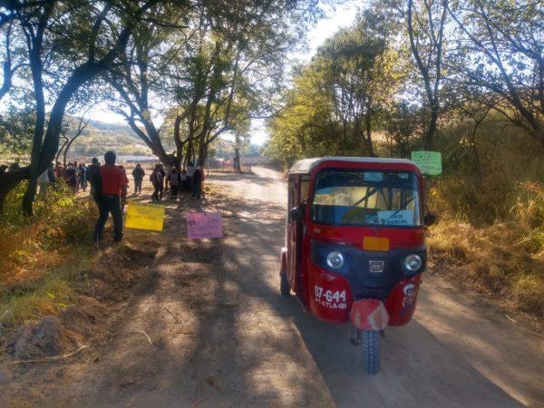 Pobladores de Huitzo evitan construcción de cuartel de la Guardia Nacional