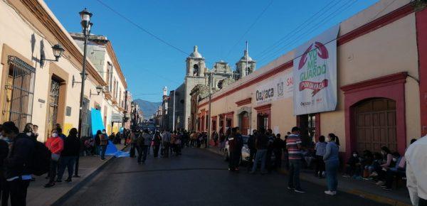 Sección 35 inicia paro de labores en todo el estado de Oaxaca