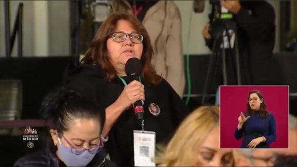 Soledad Jarquín madre de periodista asesinada en Oaxaca pide a AMLO un alto a los feminicidios