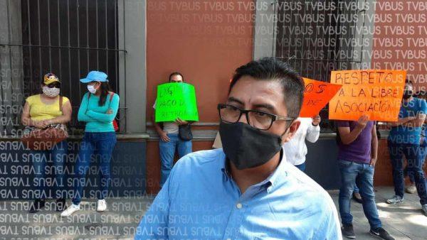 Trabajadores de Telebachilleratos comunitarios denuncian trato desigual