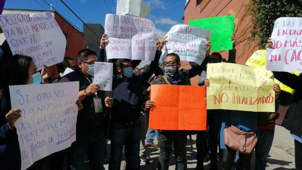 Trabajadores del STPEIDCEO denuncian imposición en la comisión de honor y justicia