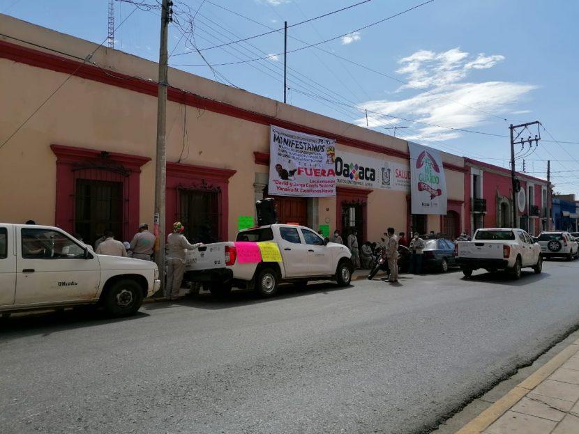 Trabajadores de vectores continúan con su jornada de protesta