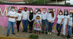"""Inauguran el mural """"Movimiento Vecinal"""" en Tuxtepec"""