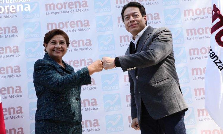Anuncia MORENA coalición con Nueva Alianza en 17 estados del país, incluyendo Oaxaca