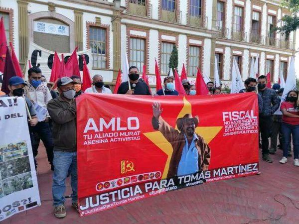 Fiscalía de Oaxaca, detiene a presunto homicida de dirigente del FPR