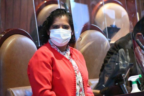 Pide diputada Laura Estrada al gobierno del Estado, atender invasión del Parque Industrial en Tuxtepec