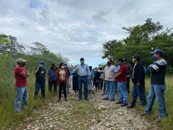 Pide Laura Estrada a CONAGUA, dar seguimientos a demandas de los pueblos cercanos a la presa Cerro de Oro
