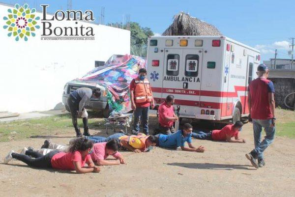Se capacita PC de Loma Bonita, para mejor atención