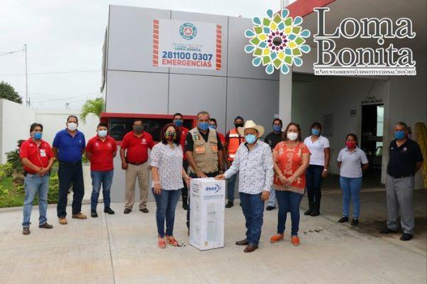 Mejoran condiciones para la Unidad de PC en Loma Bonita