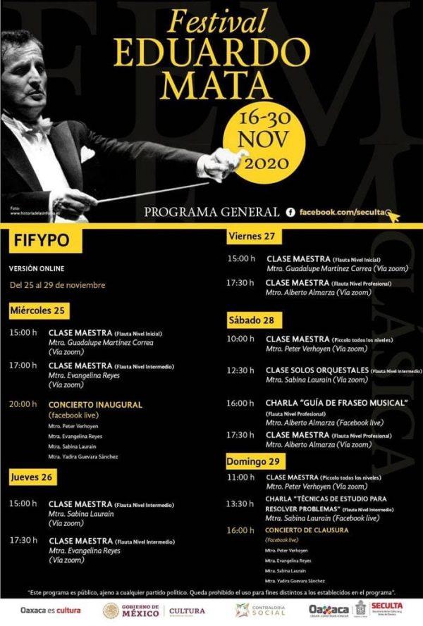 Inaugura Seculta, Festival Internacional de Flauta & Piccolo Oaxaca