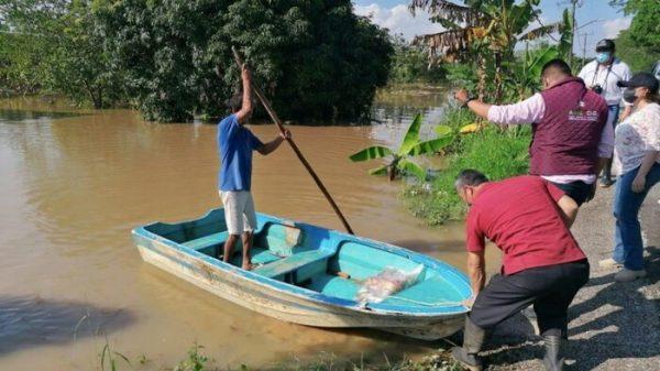 Continúa emergencia en Tabasco; hay más de 141 mil damnificados