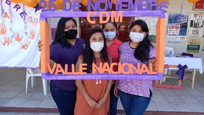 Noviembre, mes mas violento contra la mujer en Valle Nacional