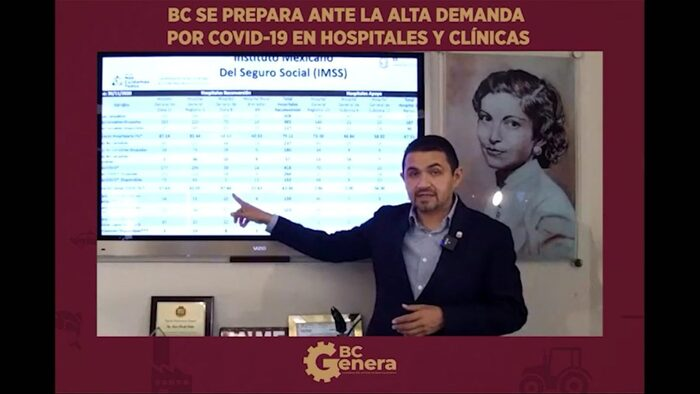 Baja California retornará a semáforo rojo
