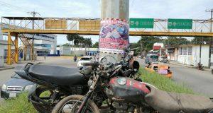 """Colocan monumento a la """"imprudencia"""" en Tuxtepec"""