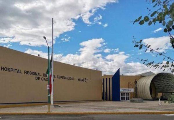 Hospital de Alta Especialidad en Oaxaca no recibirá más pacientes covid, se encuentran al 100% de su capacidad