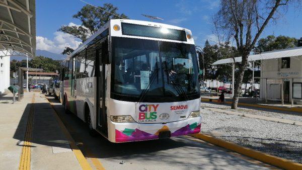 Inician pruebas del CityBus en la ciudad de Oaxaca