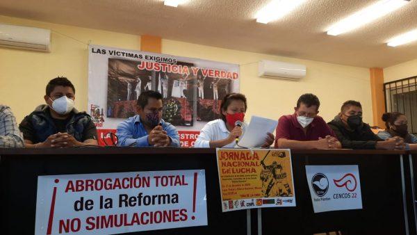 Organizaciones de Oaxaca protestarán en Ciudad de México, exigen justicia por caso Nochixtlán